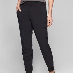Athleta Women's Soho Joggers - black size 2 - new!